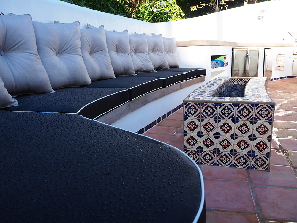 Outdoor Kitchen - Hollywood Hills, CA