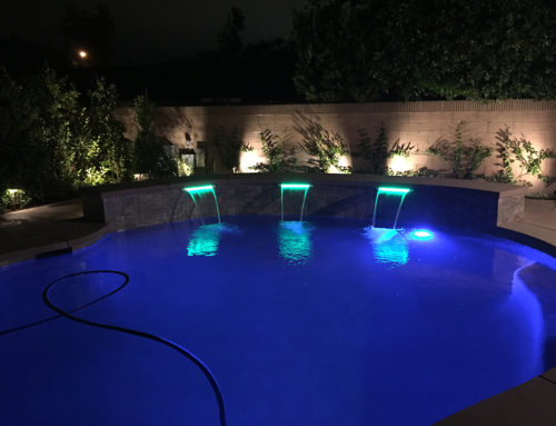 Pool and Outdoor Kitchen – Arcadia, CA