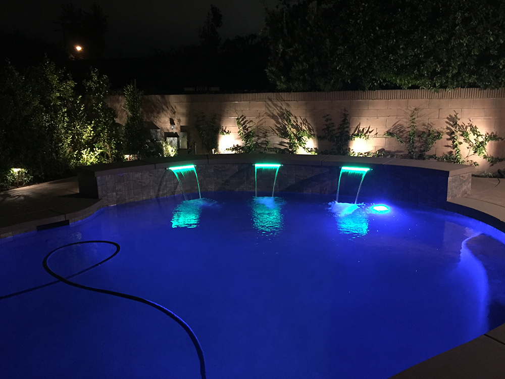 Pool and Outdoor Kitchen - Arcadia, CA